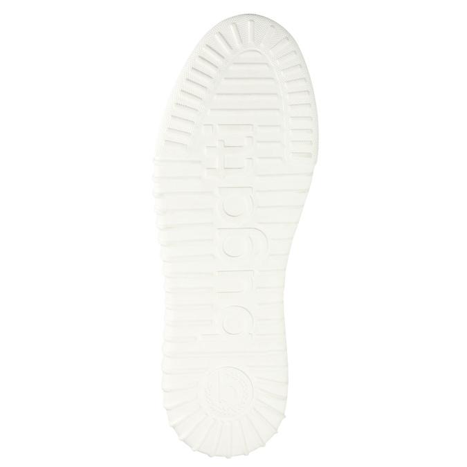 Skórzane buty za kostkę bugatti, szary, 846-2635 - 26
