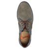 Skórzane buty za kostkę bugatti, szary, 846-2635 - 19