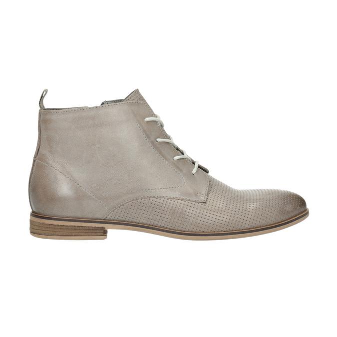 Skórzane botki bata, brązowy, 596-2645 - 15