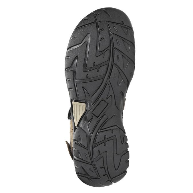 Skórzane sandały męskie weinbrenner, brązowy, 866-3630 - 26