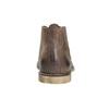 Skórzane buty za kostkę bata, brązowy, 826-4600 - 17