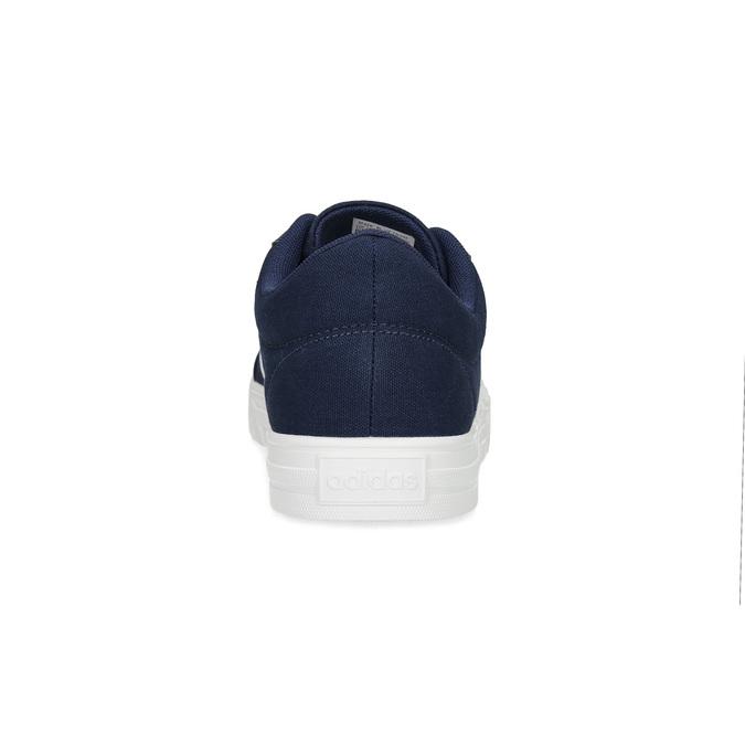 Granatowe trampki męskie zmateriału tekstylnego adidas, niebieski, 889-9235 - 15