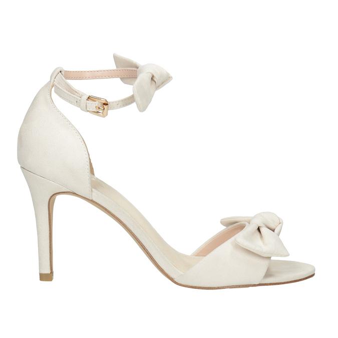 Sandały damskie zkokardami insolia, biały, 769-1614 - 15