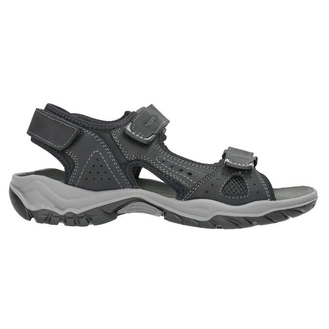Skórzane sandały męskie weinbrenner, czarny, 866-6630 - 15