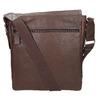 Skórzana torba typu crossbody bata, brązowy, 964-4222 - 19