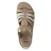 Skórzane sandały oszerokościH bata, brązowy, 566-4604 - 19