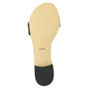 Lakierowane skórzane sandały bata, czarny, 568-6606 - 26