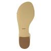 Skórzane sandały damskie bata, biały, 568-1606 - 26