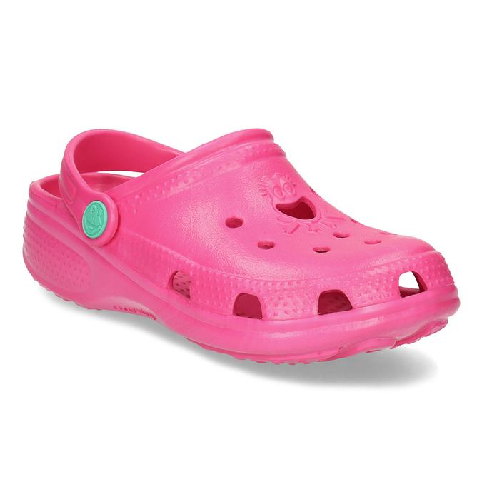 Różowe sandały dziewczęce coqui, różowy, 372-5604 - 13