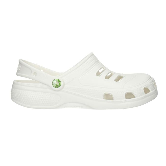 Białe sandały męskie coqui, biały, 872-1616 - 15