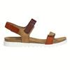 Skórzane sandały damskie weinbrenner, brązowy, 566-4630 - 15