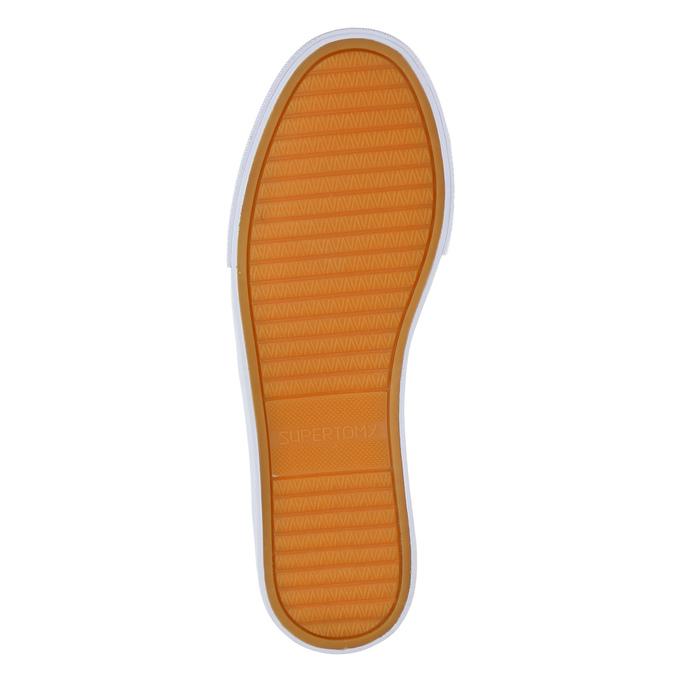 Obuwie damskie typu slip-on tomy-takkies, biały, 589-1171 - 26