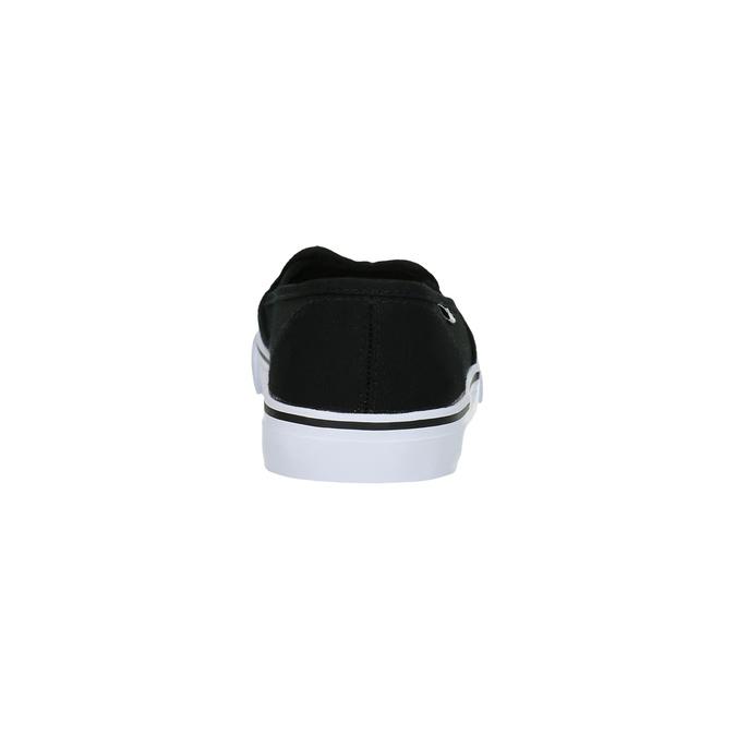 Czarne slip-on damskie tomy-takkies, czarny, 589-6170 - 17