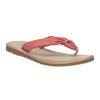 Skórzane japonki damskie bata, czerwony, 566-5607 - 13