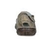 Brązowe skórzane sandały męskie bata, brązowy, 866-2622 - 15