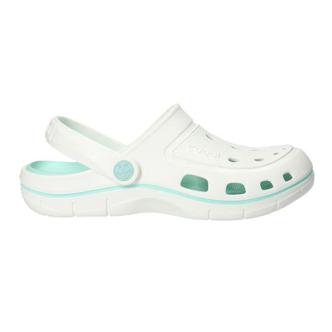 Białe sandały damskie coqui, biały, 572-1606 - 15