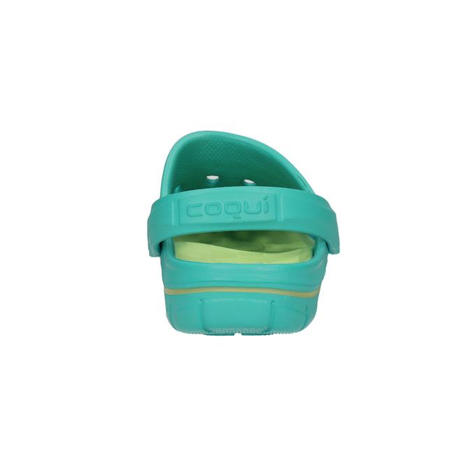 Turkusowe sandały damskie coqui, niebieski, 572-9606 - 17
