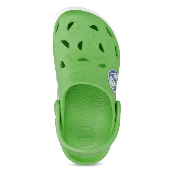 Zielone sandały dziecięce zżabkami coqui, zielony, 272-7603 - 17