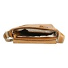Skórzana torba męska typu crossbody bata, brązowy, 964-3283 - 15