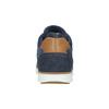 Skórzane trampki za kostkę bata, niebieski, 846-9641 - 17