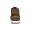 Skórzane trampki za kostkę bata, brązowy, 846-4640 - 17