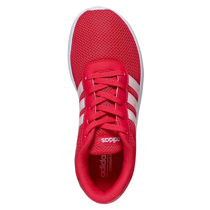 Czerwone trampki dziecięce adidas, czerwony, 409-5288 - 19