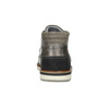 Szare skórzane obuwie za kostkę bata, szary, 826-2912 - 17