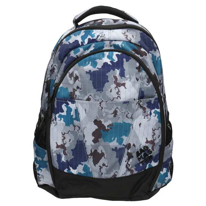 Plecak szkolny wdeseń bagmaster, szary, 969-2649 - 26