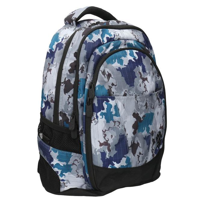 Plecak szkolny wdeseń bagmaster, szary, 969-2649 - 13