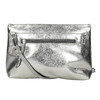 Srebrna torebka crossbody bata, srebrny, 961-1501 - 26