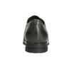 Skórzane półbuty zmetalowymi ćwiekami bata, szary, 526-9643 - 16
