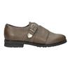 Skórzane półbuty damskie bata, brązowy, 516-2612 - 26