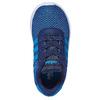 Granatowe trampki chłopięce adidas, niebieski, 109-9288 - 19