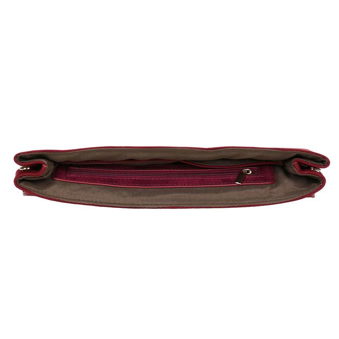 Bordowa kopertówka damska bata, czerwony, 969-5665 - 15