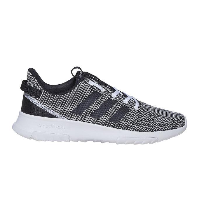 Trampki wsportowym stylu adidas, czarny, 809-6201 - 15