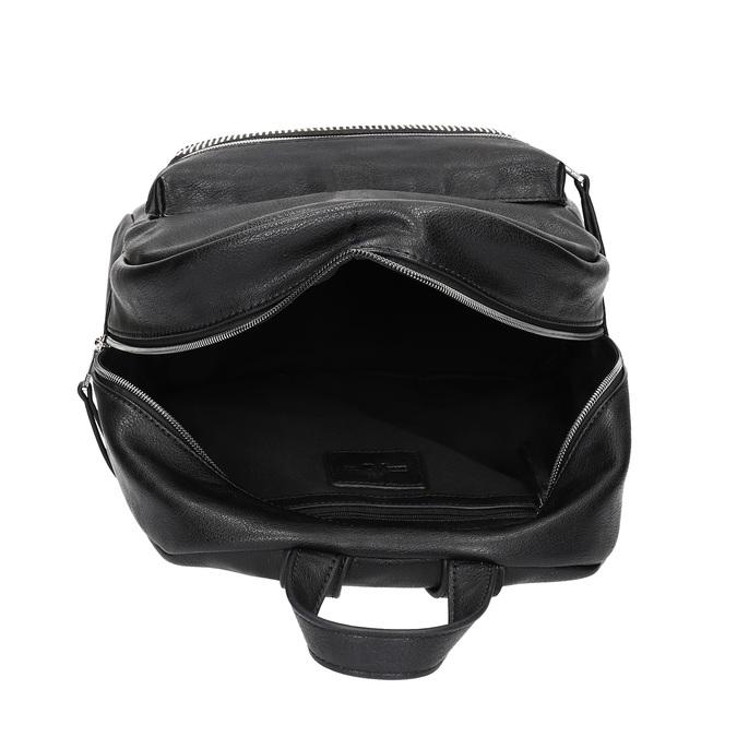 Czarny plecak damski zkryształkami bata, czarny, 961-6855 - 15