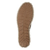 Skórzane trampki damskie weinbrenner, brązowy, 546-4604 - 17