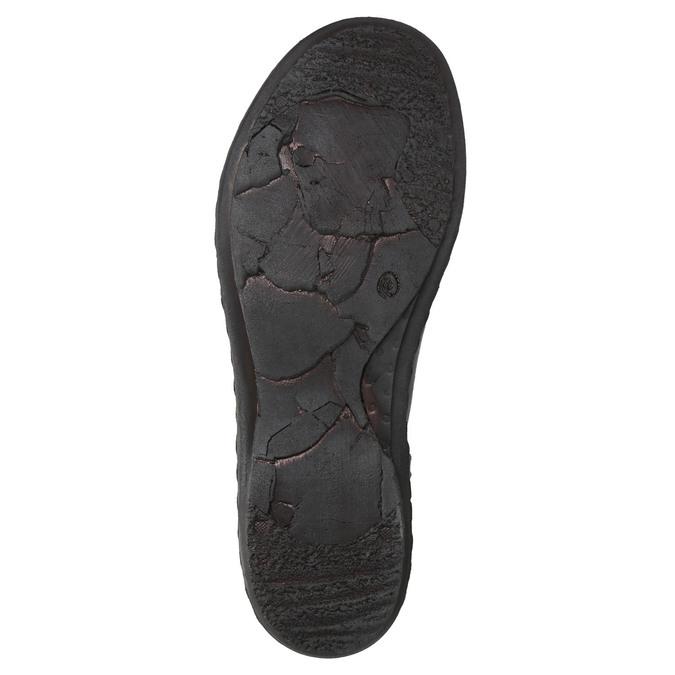 Botki damskie bata, czarny, 596-6656 - 19