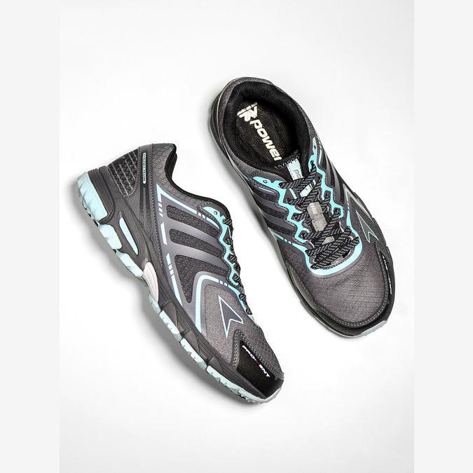 Sportowe obuwie damskie power, szary, 509-2226 - 19