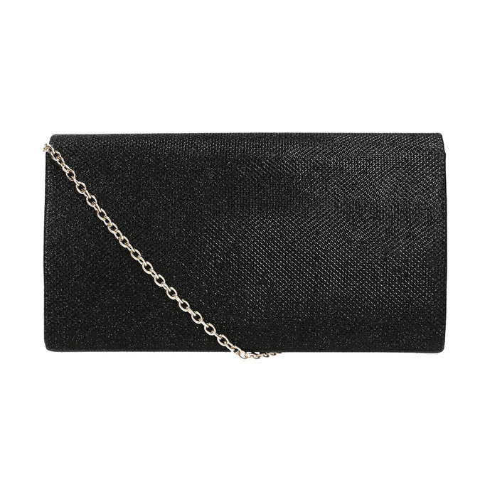 Czarna kopertówka damska bata, czarny, 969-6661 - 26