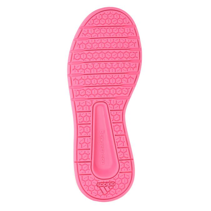 Fioletowe trampki dziecięce adidas, fioletowy, 301-5194 - 17
