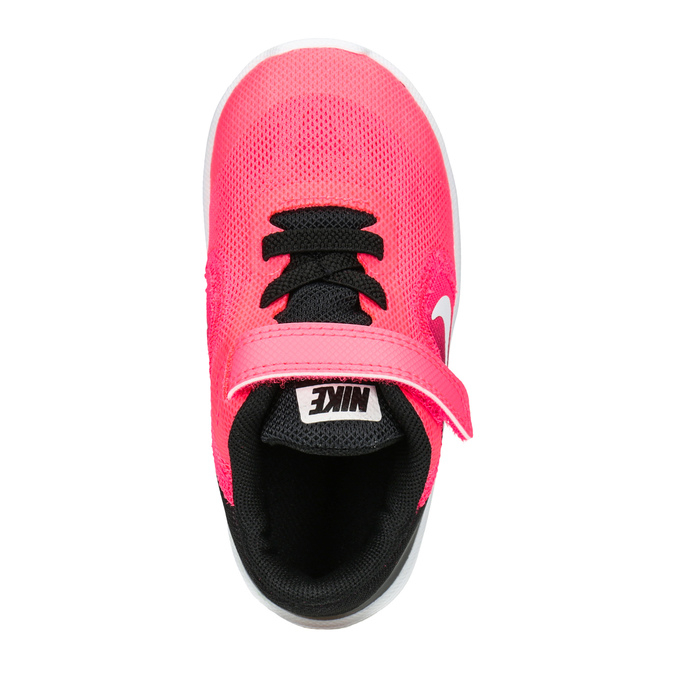 Różowe trampki dziewczęce nike, różowy, 109-5132 - 15