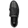 Skórzane slip-on damskie bata, czarny, 516-6614 - 26