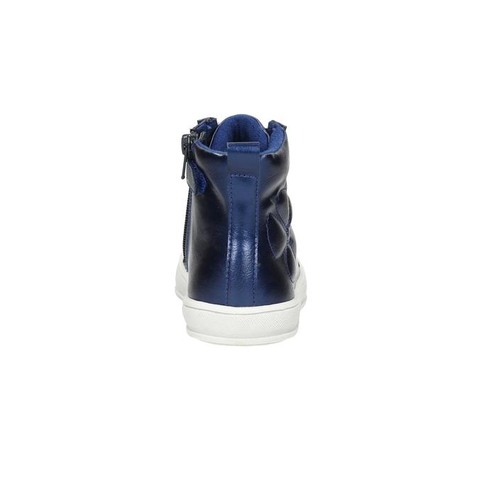 Niebieskie trampki dziecięce za kostkę mini-b, niebieski, 321-9610 - 17