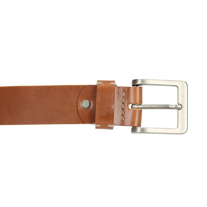 Skórzany pasek męski bata, brązowy, 954-3191 - 26