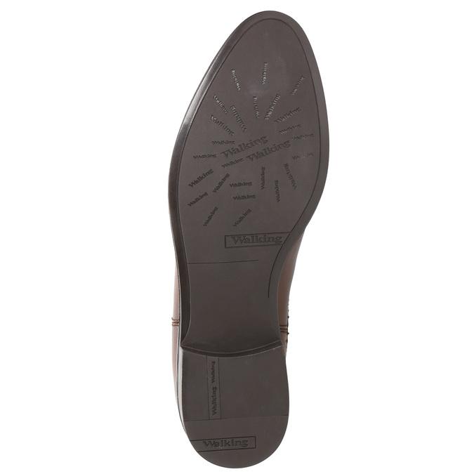 Skórzane buty damskie typu chelsea bata, brązowy, 594-4635 - 26