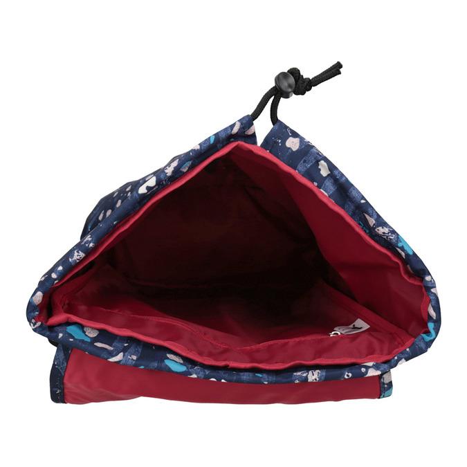 Kolorowy plecak, niebieski, 969-9080 - 15