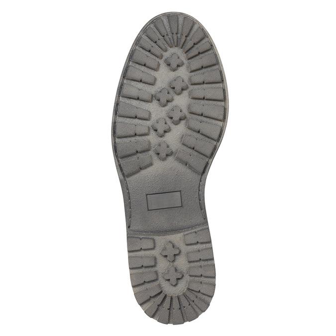 Skórzane półbuty męskie bata, brązowy, 826-4619 - 26