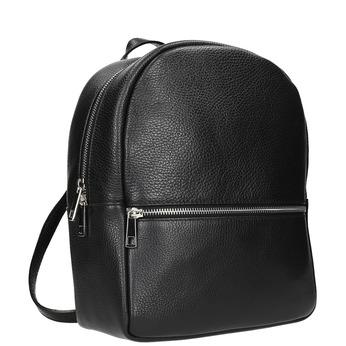 Czarny skórzany plecak bata, czarny, 964-6240 - 13