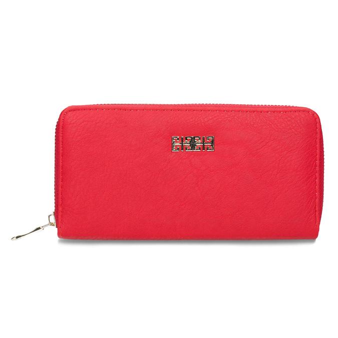 Czerwony portfel damski bata, czerwony, 941-5180 - 26